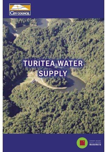 Turitea Water Supply - Palmerston North City Council
