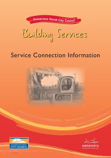 Service Connection Information - Palmerston North City Council