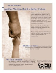 here - New Mexico Voices for Children