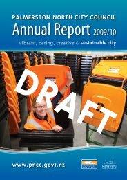 Annual Report 2009-10 - Palmerston North City Council