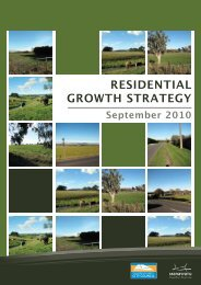 RESIDENTIAL GROWTH STRATEGY - Palmerston North City Council