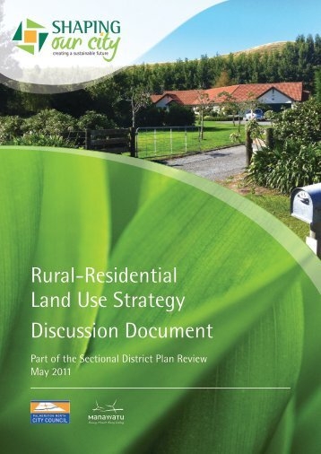 Rural-Residential Land Use Strategy Discussion Document - May