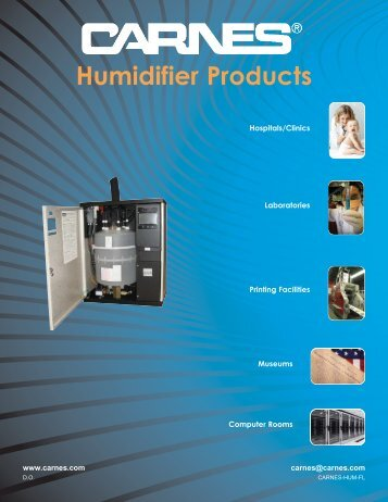 Humidifier Brochure