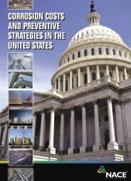 Corrosion Costs and Preventive Strategies In the United States