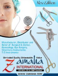 Zamaha Surgical Instruments Suppliers (All forceps, scissors and needle holders)