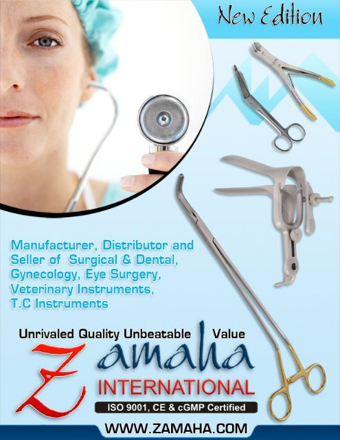 Zamaha Surgical Instruments Suppliers (All forceps, scissors