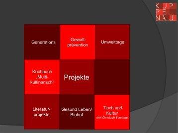 Projekte - Kuppelnauschule