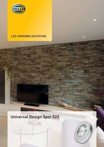 Universal Design Spot S22 - Hella