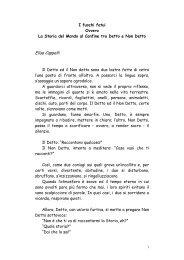 I fuochi fatui - Solima - Margine, Soglia, Confine, Limite