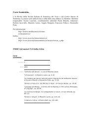 Carte Semiotiche una rivista semestrale di semiotica del testo, di ...