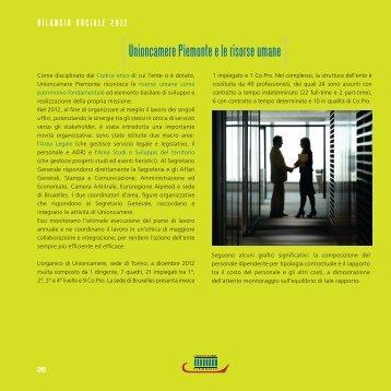 INTERNO BILANCIO SOCIALE 2012.indd - Camere di Commercio