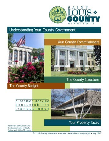 Understanding Your County Government - St. Louis County