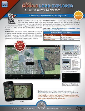 MOBILE LAND EXPLORER - St. Louis County