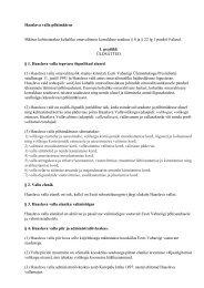 Haaslava valla põhimäärus - Haaslava Vald