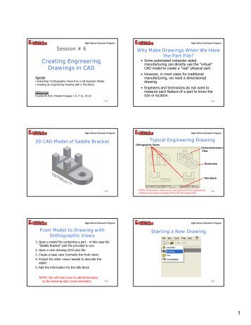 Tuesday 11-3 - Autodesk Inventor 6 - Home Link