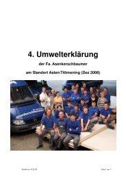 Firmenmission. - Schreinerei Asenkerschbaumer