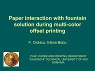 Paper interaction with fountain solution during multi-color offset ... - PFI