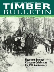 BULLETIN - Minnesota Forest Industries