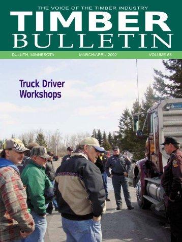 Timber Bulletin Mar/Apr - Minnesota Forest Industries