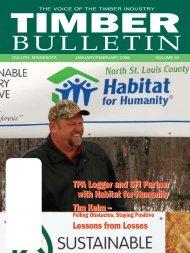 Timber Bulletin Jan/Feb - Minnesota Forest Industries