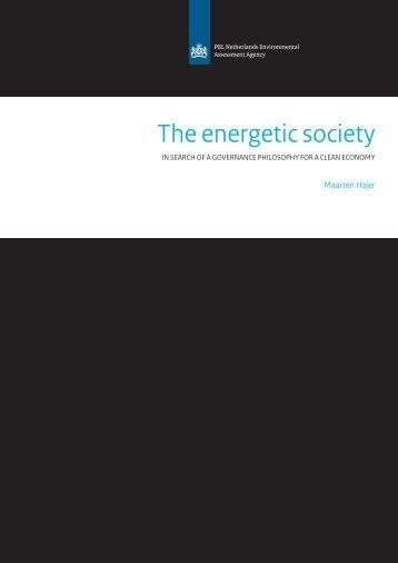 The energetic society - Planbureau voor de Leefomgeving