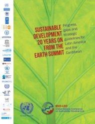 sustainable development 20 years on from the ... - José Eli da Veiga