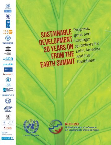 sustainable development 20 years on from the ... - José Eli da Veiga