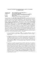CONTRATO DE PRESTACION DE SERVICIOS DE APOYO A LA ...