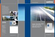 Xantrex™ Three Phase GT30E Grid Tie Solar Inverter - Rexel