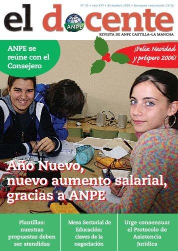 NÚMERO 32 (Págs de 01 a 10).qxd - Anpe Albacete Sindicato ...