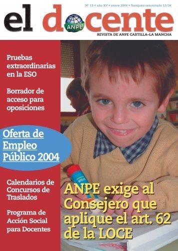 te interesa saber - Anpe Albacete Sindicato Independiente