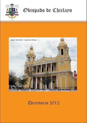Directorio Diocesano 2012 - Obispado de Chiclayo