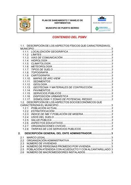 PSMV puerto berrio - Inicio - Corantioquia