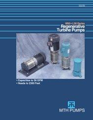 M50 • L50 Product Bulletin - MTH Pumps