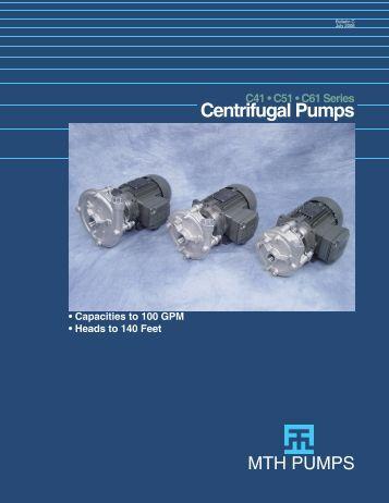 C-Series Bulletin.indd - MTH Pumps