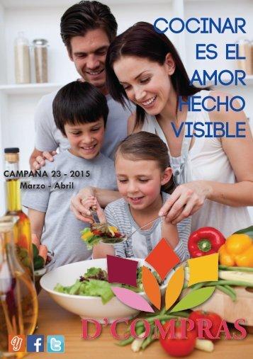 Catálogo D'Compras Marzo Abril 2015