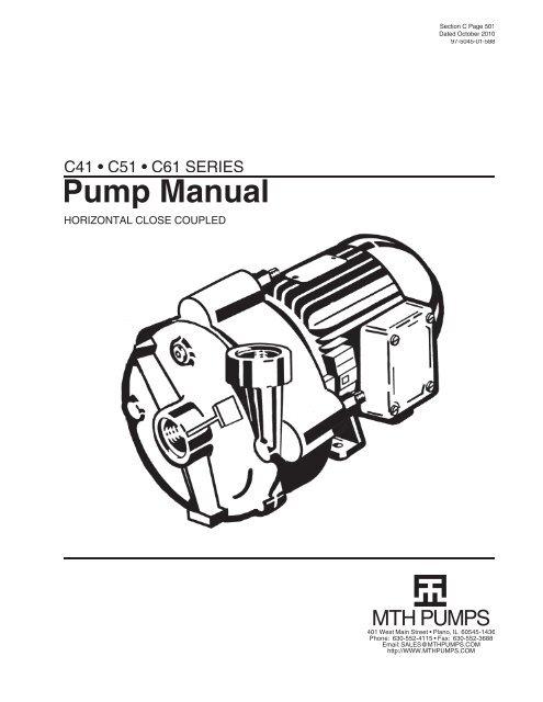 c41 c51 c61 serie MTH Locomotive Wiring c series manual indd mth pumps