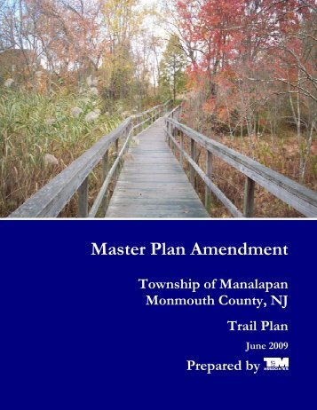 Master Plan Amendment - Manalapan Township