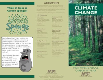 CLIMATE CHANGE - Minnesota Forest Industries