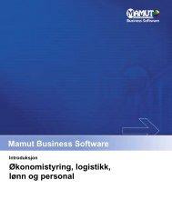 Økonomistyring, logistikk, lønn og personal - Mamut