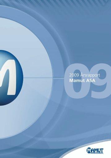 Årsrapport 2009 - Mamut