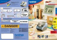 401608 QL-500 Brother leaflet (Page 1 - 2)