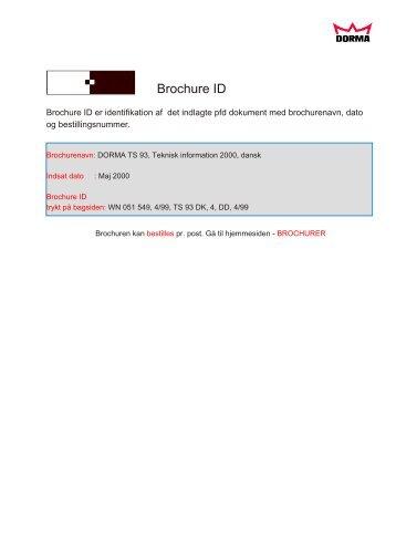 Brochure TS93EMF - Mamut ServiceSuite WebShop