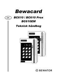 BC610 Prox - Mamut ServiceSuite WebShop