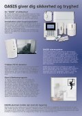 OASIS alarmsystemet - Pro - Sec - Page 2