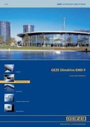 GEZE Slimdrive EMD-F - Mamut ServiceSuite WebShop