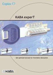 Brochure Kaba experT - Mamut ServiceSuite WebShop