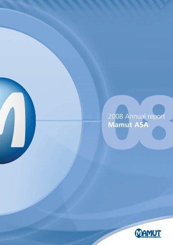 Annual Report 2008 - Mamut