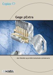 Brochure Gege pExtra - Mamut ServiceSuite WebShop