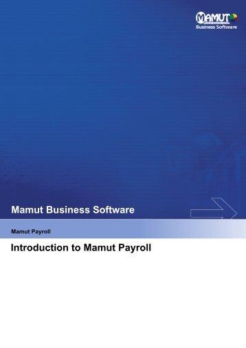 Mamut Payroll